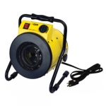 1500W Portable Garage Heater w/ 120V Plug, 175 Sq Ft, 216 CFM, 12.5 Amp, 120V, Yellow