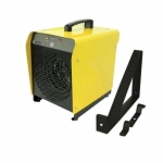 4000W Portable Garage Heater w/ 240V Plug, 500 Sq Ft, 300 CFM, 16 Amp, 208V/240V, Yellow
