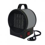 1500W Portable Ceramic Utility Heater w/ 120V Plug, 175 Sq Ft, 216 CFM, 12.5 Amp, 120V