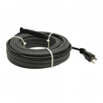 72W/96W 12-ft Self-Regulating Heating Cable, 120V