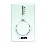 Dual Diaphragm Thermostat, Double Pole, White
