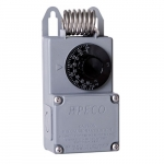 NEMA 4X Industrial Thermostat, 40 F - 110 F ,25A, 24V-277V