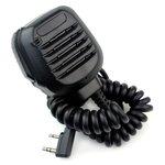 Heavy Duty Speaker Microphone (w/ 2.5mm Miniature Earphone Jack)