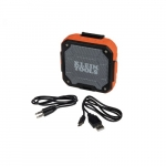 Bluetooth Speaker with Magnetic Strap, Orange