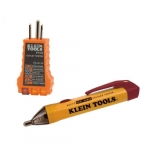Dual-Range Non-Contact Voltage Tester w/ Receptacle Tester