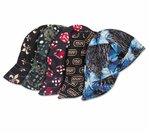 "Reversible Assorted Pattern Welding Caps 7.5"" Pre-Shrunk Cotton"