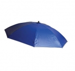 7-ft Tall Heavy-Duty Vinyl Umbrella, Blue