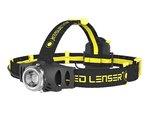 iH6R 200 Lumen 120 Meter Black and Yellow LED Headlamp