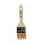 Chip Brushes, White Chinese Bristle, Wood Handle