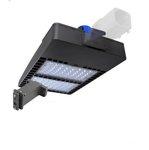 300W Shoebox LED Pole Light w/ Photocell, 39000 Lumens