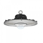 150W LED UFO High Bay w/Built-in Sensor, 400W MH/HID Retrofit, Dimmable, 24000lm, 5000K