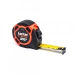 25-ft Tape Measurer, Self-Centering, Orange