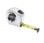 .75-in X 12-ft P2000 Tape Measure, Chrome