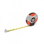 .38-in x 100-ft Long Tape Measurer, SAE/Metric, Red/Gray