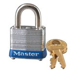 Master Lock No. 7 Laminated Steel Pin Tumbler Padlock