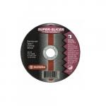 4.5-in Super Slicer Flat Cutting Wheel, 60 Grit, Aluminum Oxide