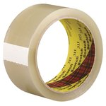 Scotch Box Sealing Tape, Clear, 48MM X 100M
