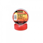 66-ft Scotch Electrical Color Coding Tape 35, 0.75-in Diameter, Red