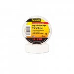 66-ft Scotch Electrical Color Coding Tape 35, 0.75-in Diameter, White