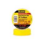 66-ft Scotch Electrical Color Coding Tape 35, 0.75-in Diameter, Yellow