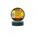 66-ft Scotch Electrical Color Coding Tape 35, 0.75-in Diameter, Green