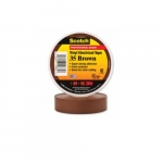 66-ft Scotch Electrical Color Coding Tape 35, 0.75-in Diameter, Brown