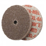"3x1/8"" Deburring Wheel, EXL Unitized, Medium"