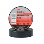 3/4 Inch x 60' Long Temflex Friction Tape, 13 mil, Black