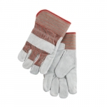 Large Gunn Pattern Leather Palm Gloves