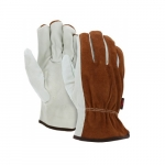 Split Leather Driver Gloves, Unlined, X-Large