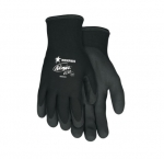 Ninja Ice Gloves w/ Palm and Fingertip Coated, Large, Black
