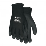 Ninja Ice Gloves w/ Palm and Fingertip Coated, X-Large, Black