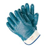 Large Blue Fully Coated Nitrile Coated Gloves