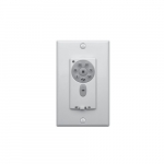 Proprietary Wall Control for DC Ceiling Fans, 6-Speed, White