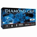 Large Natural Diamond Grip Examination Gloves