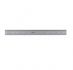 "300MM X 12"" Flexible Chrome Stainless Steel Ruler"
