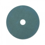 "27.25"" Ultra High-Speed Floor Burnishing Pad, Aqua"