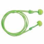 Glide Foam Twist-In Earplugs, Foam, Corded