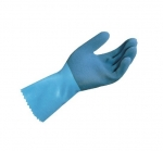Medium LL-301 Natural Rubber Blue-Grip Gloves