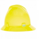 Protective Hat, Yellow-Green, Fas-Trac Ratchet