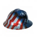 Standard V-Gard Hard Hat, Sizes 6.5-8, Freedom Series American Stars & Stripes