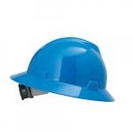 Standard V-Gard Hard Hat, Sizes 6.5-8, Blue