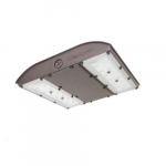 28W LED MPulse Canopy Light, 0-10V Dim, 150W MH Retrofit, 3870 lm, 5000K, Bronze