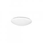 16-in 23W LED Flush Mount Ceiling Light, Dimmable, 2028 lm, 120V, 3000K