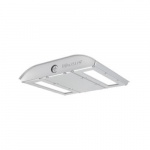 55W LED MPulse Canopy Area Light, 0-10V Dim, 250 MH Retrofit, 4790 lm, 4000K, Silver