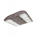 56W LED MPulse Canopy Area Light, 0-10V Dim, 250W MH Retrofit, 6840 lm, 5000K