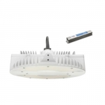 130W LED High Bay w/Motion and Battery Backup, 0-10V Dimmable, 250W MH Retrofit, 4000K