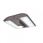 56W MPulse LED Canopy Area Light w/ Photocell, 0-10V Dim, 250W MH Retrofit, 6655lm, 5000K