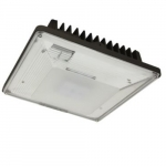 20W LED Low Profile Canopy w/ Photocell, 0-10V Dim, 100W MH Retrofit, 2,200 lm, 4000K