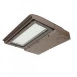 100W MPulse LED Area Light, Type IV, 0-10V Dimming, 250W MH Retrofit, 12460 lm, 4000K